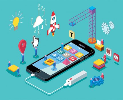 The impacts of augmented reality on the mobile-app business world